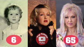 Cyndi Lauper | Transformation From 4 To 65 Years Old